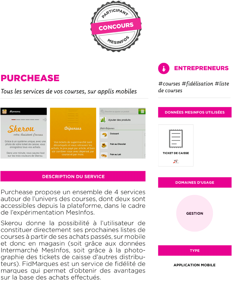 Fiche service prototype PurchEase